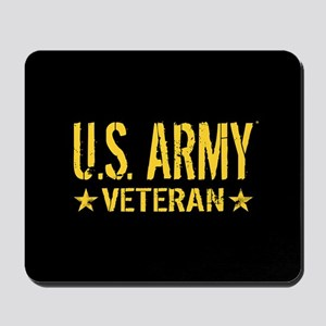 U.S. Army: Veteran (Gold Stars) Mousepad
