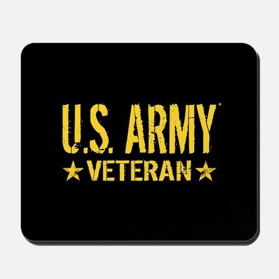 U.S. Army: Veteran (Gold Stars) Mousepad