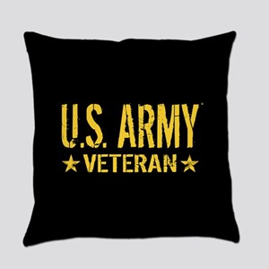 U.S. Army: Veteran (Gold Stars) Everyday Pillow