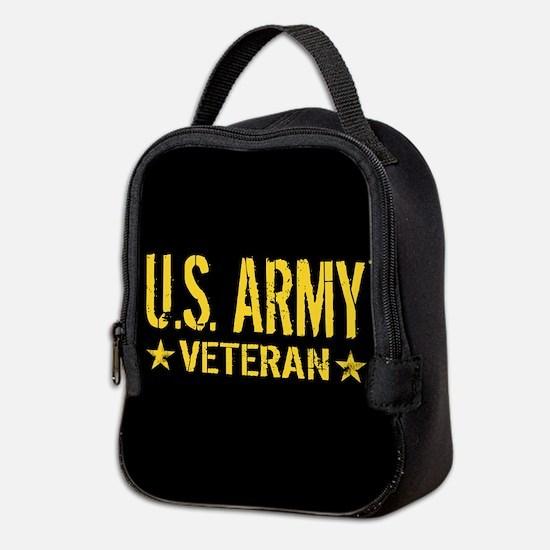 U.S. Army: Veteran (Gold Stars) Neoprene Lunch Bag