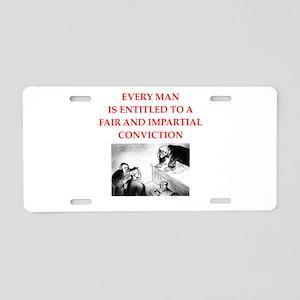 trial Aluminum License Plate