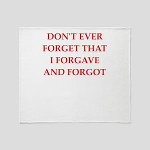 forgiveness Throw Blanket