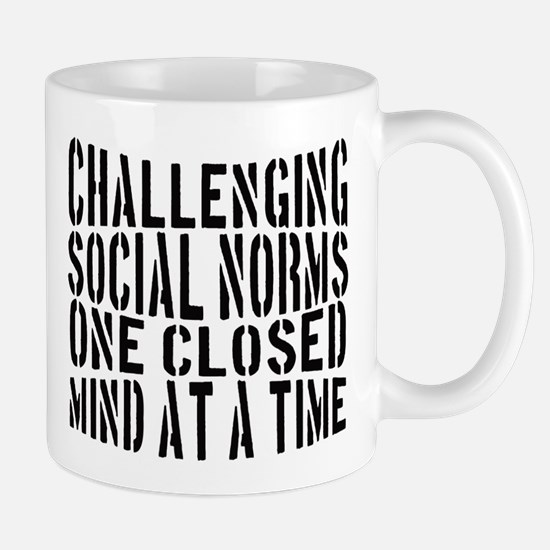 Challenging Social Norms Coffee Mug Mugs