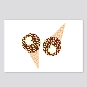 Ice Cream Cones Postcards (Package of 8)