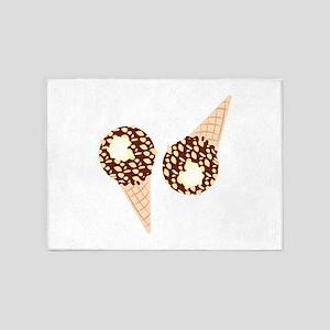 Ice Cream Cones 5'x7'Area Rug