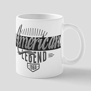 Birthday Born 1960 American Legend Mug