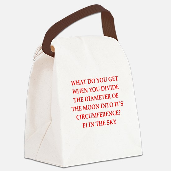astronomy Canvas Lunch Bag