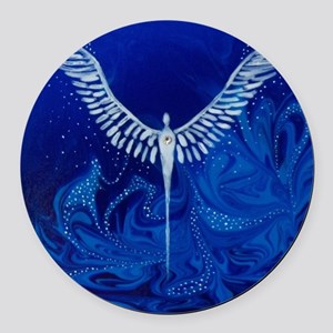 The Protector Round Car Magnet