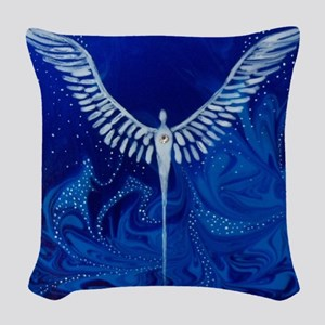 The Protector Woven Throw Pillow
