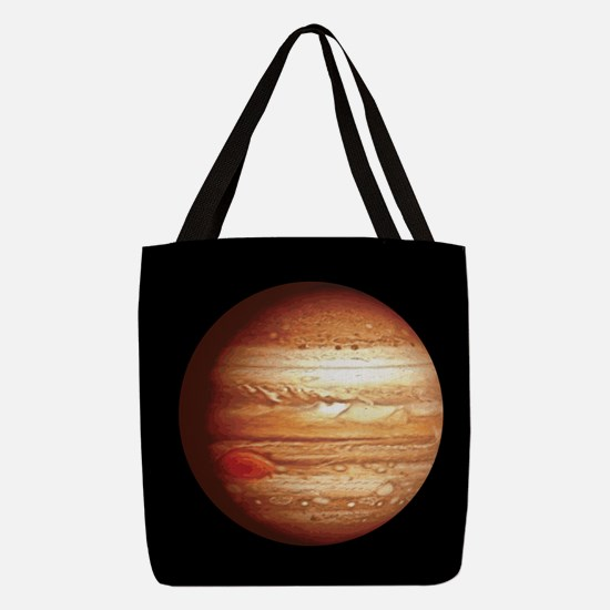 Planet Jupiter Polyester Tote Bag