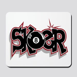 Sk8ter Skateboarding Mousepad