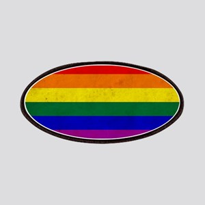 Vintage Rainbow Gay Pride Flag Patch