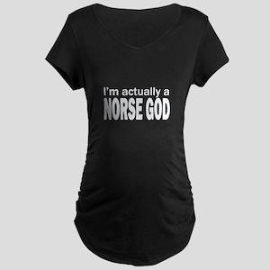NORSE GOD Maternity Dark T-Shirt