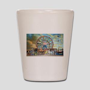 Wonder Wheel Park Shot Glass