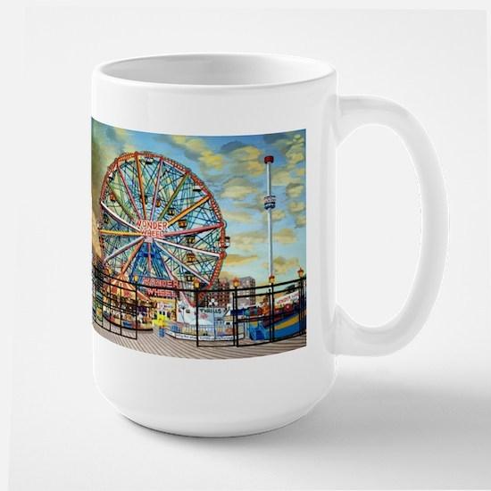 Wonder Wheel Park Mugs