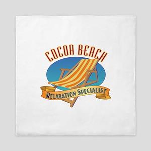 Cocoa Beach Relax - Queen Duvet