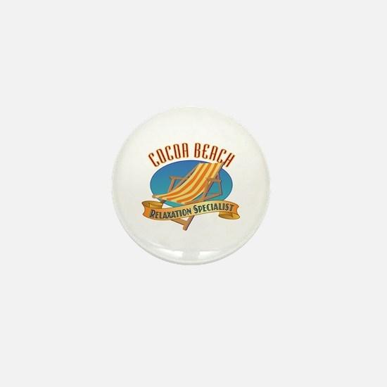 Cocoa Beach Relax - Mini Button