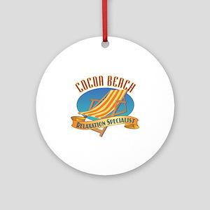 Cocoa Beach Relax - Ornament (Round)