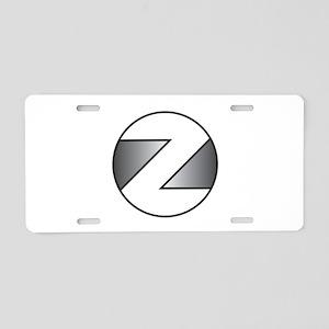 Z Aluminum License Plate