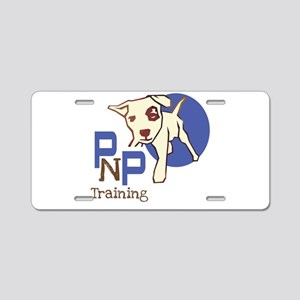 Pups N Paws Dog Training Aluminum License Plate