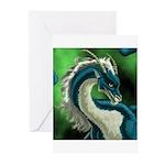 Luuko Dimar Dragon Greeting Cards (Pk of 10)