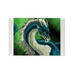 Luuko Dimar Dragon Rectangle Magnet