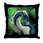 Luuko Dimar Dragon Throw Pillow