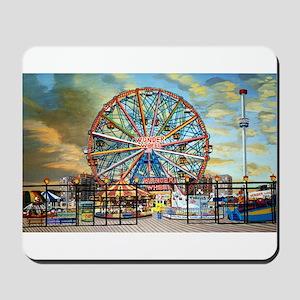 Wonder Wheel Park Mousepad
