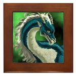 Luuko Dimar Dragon Framed Tile