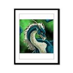 Luuko Dimar Dragon Framed Panel Print