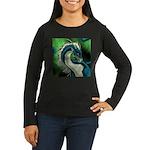 Luuko Dimar Dragon Women's Long Sleeve Dark T-Shir