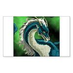 Luuko Dimar Dragon Rectangle Sticker