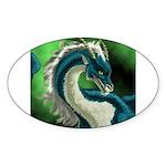 Luuko Dimar Dragon Oval Sticker