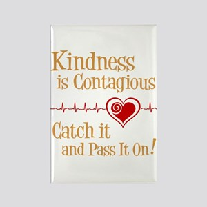 CONTAGIOUS KINDNESS Rectangle Magnet