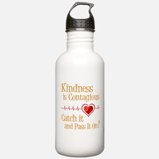 CONTAGIOUS KINDNESS Water Bottle
