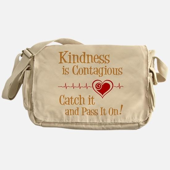 CONTAGIOUS KINDNESS Messenger Bag