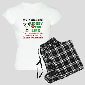 Personalize, Kidney Donatio Women's Light Pajamas