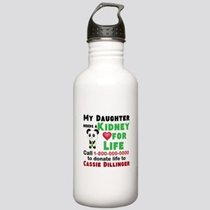 Personalize, Kidney Do Stainless Water Bottle 1.0L