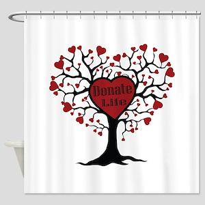 Donate Life Tree Shower Curtain
