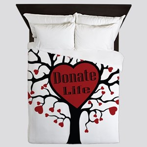 Donate Life Tree Queen Duvet