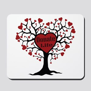 Donate Life Tree Mousepad