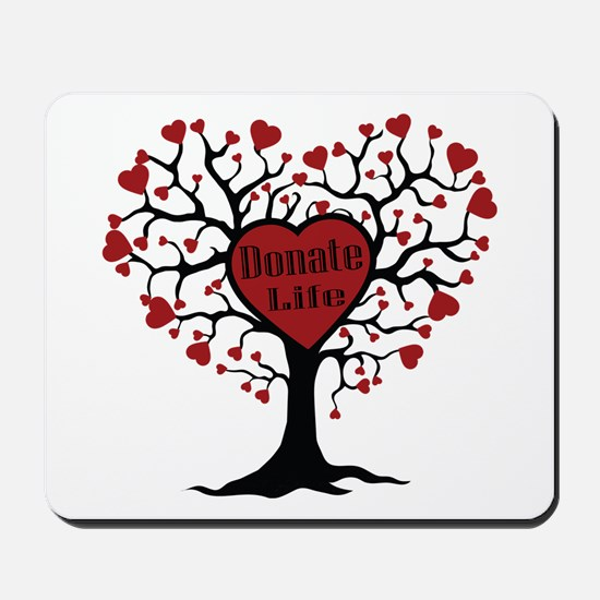 Donate Life Tree Mousepad