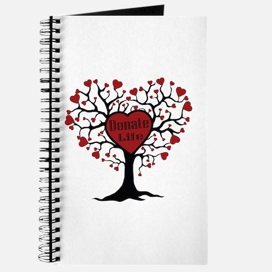 Donate Life Tree Journal