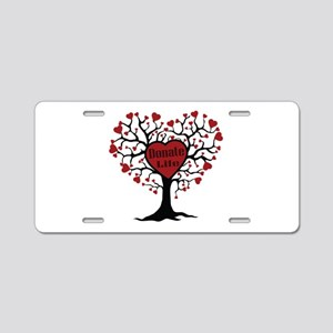 Donate Life Tree Aluminum License Plate