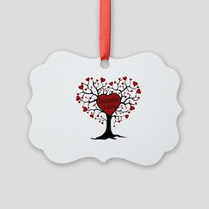 Donate Life Tree Picture Ornament