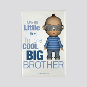 Little Cool Big Brother Rectangle Magnet