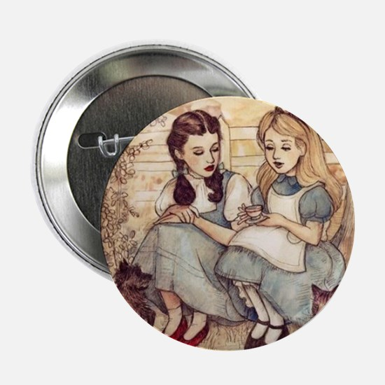"Dorothy and Alice 2.25"" Button (10 pack)"
