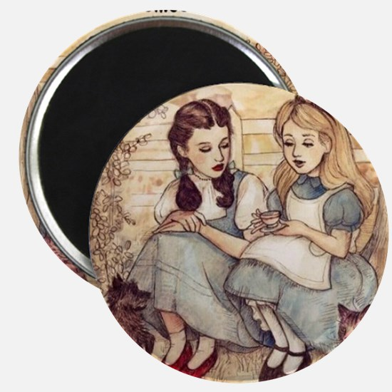 Dorothy and Alice Magnets