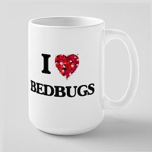 I Love Bedbugs Mugs