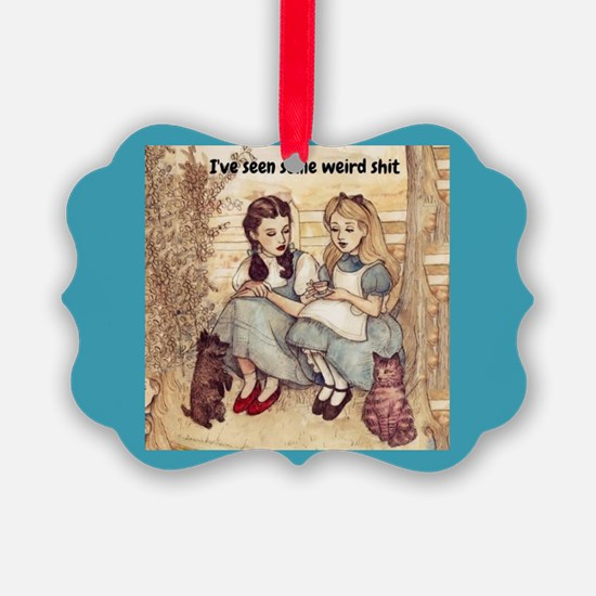 Dorothy and Alice Ornament